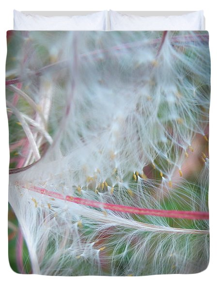 Fireweed Number One Duvet Cover by Brian Boyle