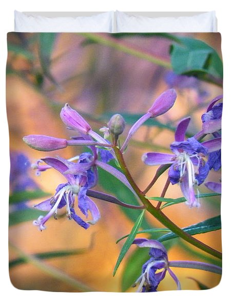 Fireweed Number Three Duvet Cover by Brian Boyle