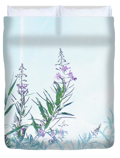 Fireweed Number Two Duvet Cover