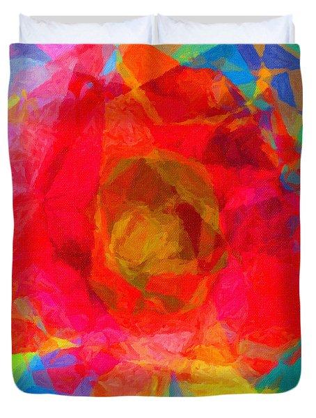 Firewheel - Gaillardia Pulchella Duvet Cover