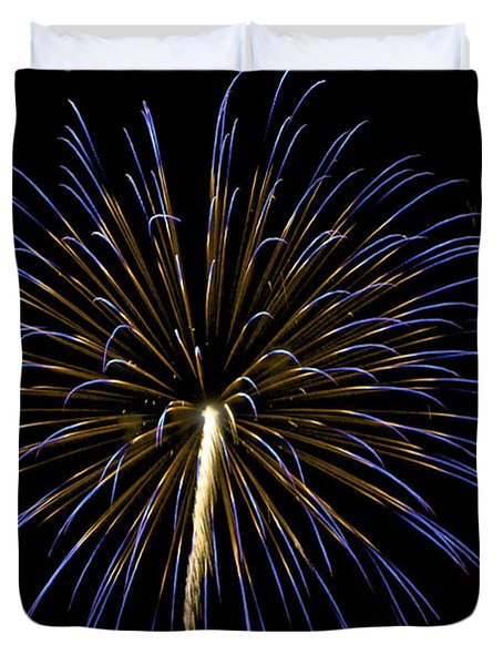 Fireworks Bursts Colors And Shapes 3 Duvet Cover
