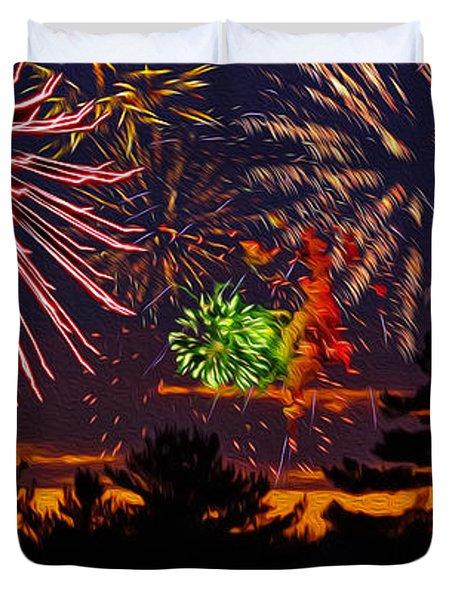 Fireworks No.1 Duvet Cover