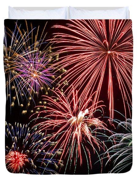 Fireworks Spectacular IIi Duvet Cover
