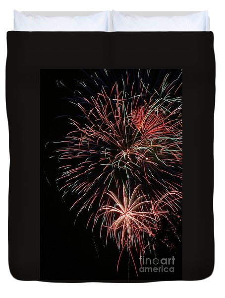 Fireworks6525 Duvet Cover by Gary Gingrich Galleries