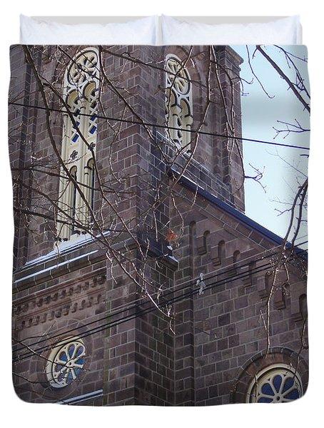 First Baptist Church Duvet Cover
