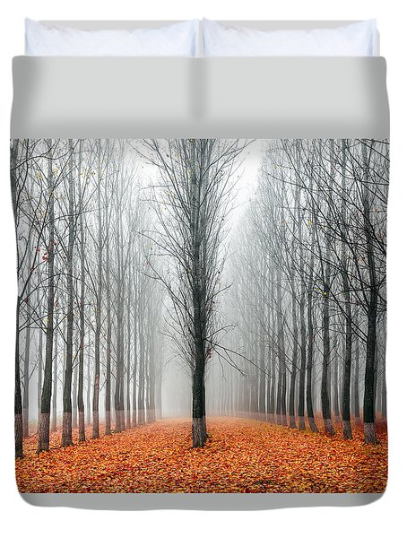 First In The Line Duvet Cover