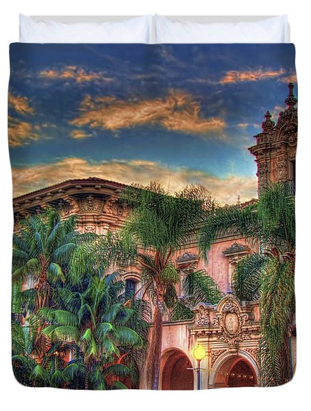 Duvet Cover featuring the photograph First Morning Glow by Gary Holmes