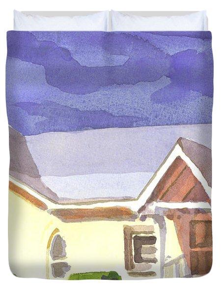 First Presbyterian Church II Ironton Missouri Duvet Cover