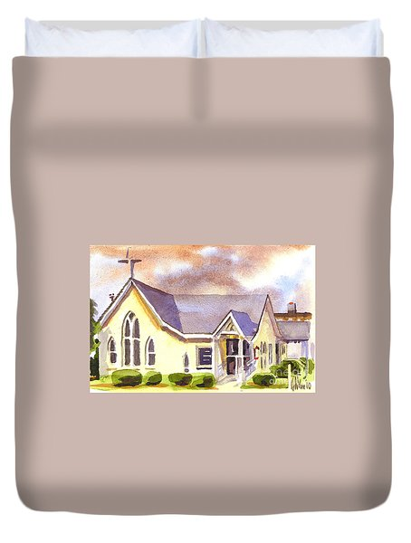 First Presbyterian Church Ironton Missouri Duvet Cover