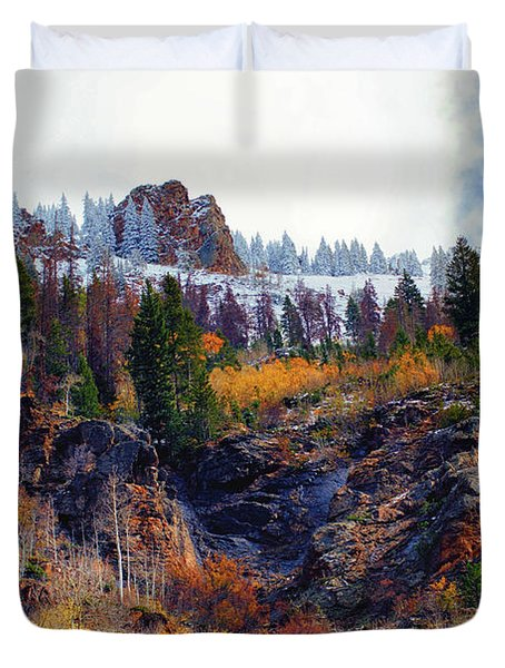 First Snow Duvet Cover by Brian Kerls