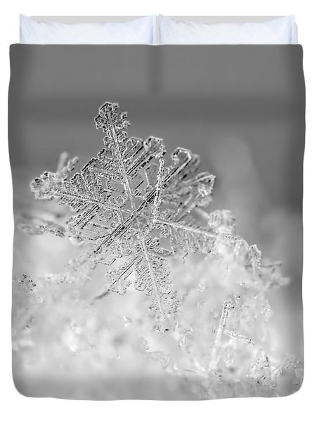 First Snowflake Duvet Cover