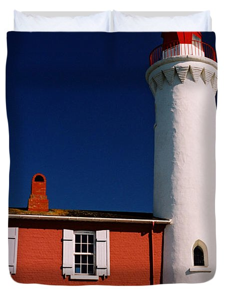 Fisgard Lighthouse Duvet Cover