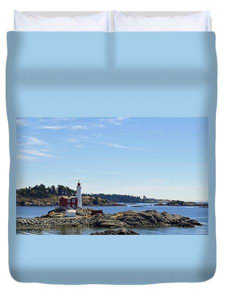 Fisgard Lighthouse Duvet Cover