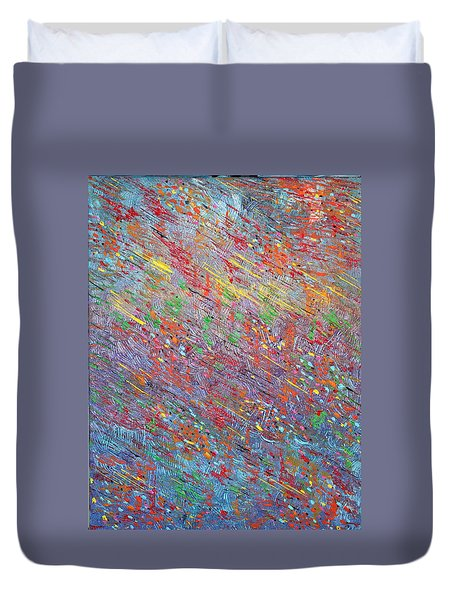 Fish To The Top Duvet Cover