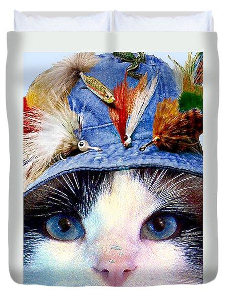 Fisher Cat Duvet Cover