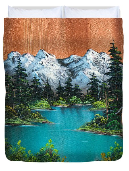 Fisherman's Cabin Duvet Cover by C Steele