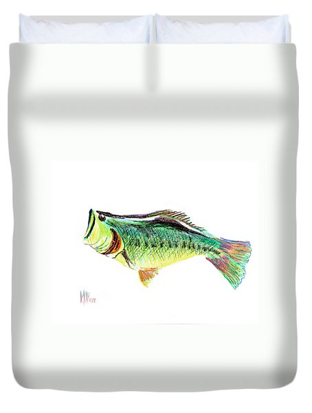 Fishermans Delight Duvet Cover by Kip DeVore