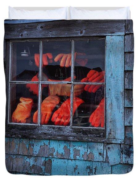 Fishermen's Hands Duvet Cover