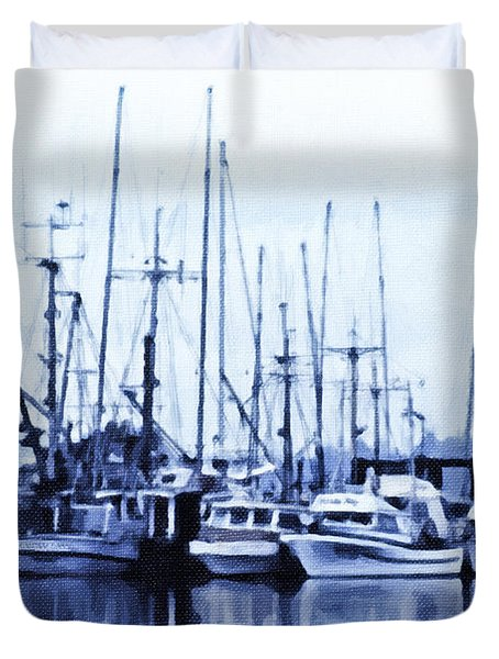 Fishers' Wharf Duvet Cover