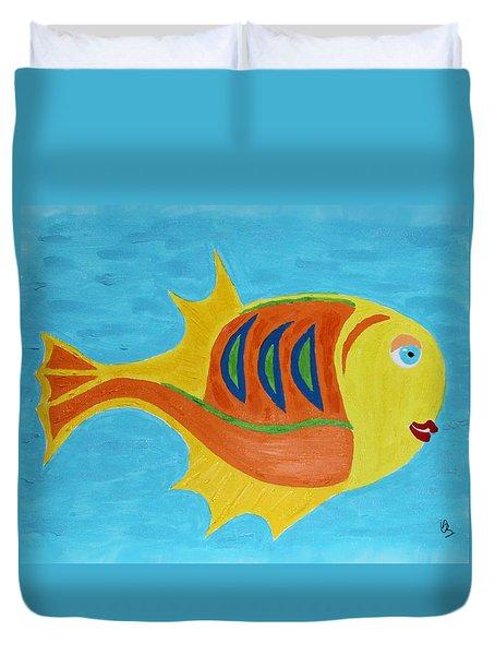 Fishie Duvet Cover