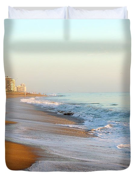 Fishing The Atlantic Duvet Cover