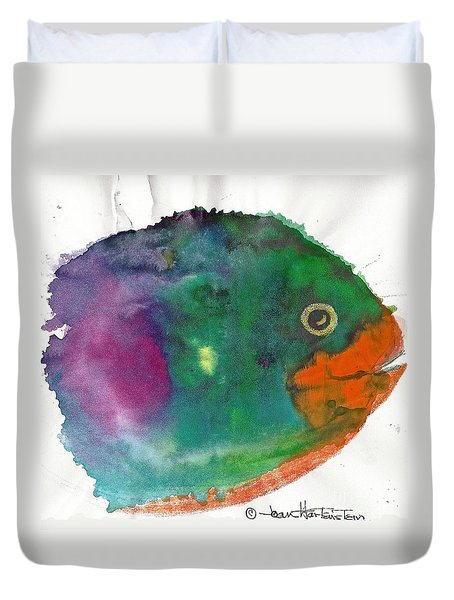 Fishy Duvet Cover