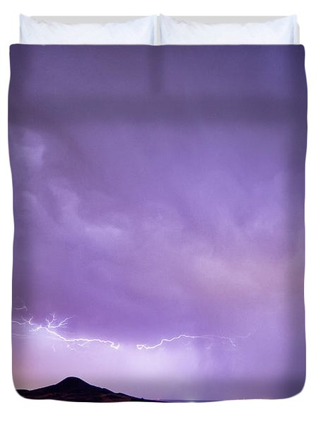 Fist Bust Of Power Duvet Cover by James BO  Insogna