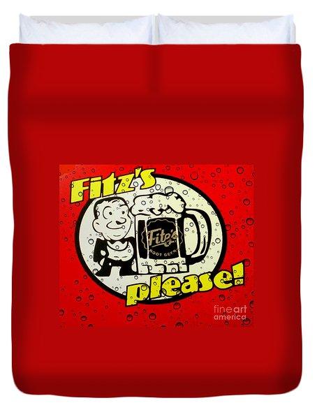Fitz's Please All Wet Duvet Cover