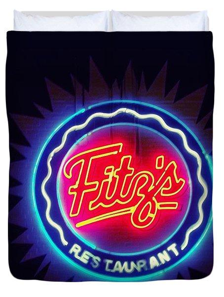 Fitz's Restaurant 2 Duvet Cover