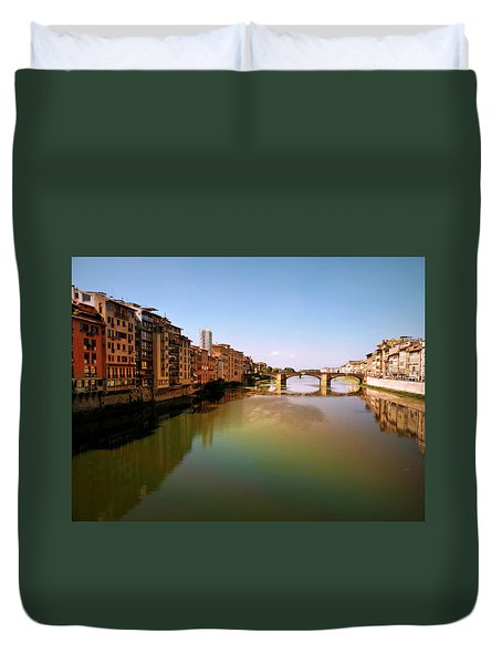 Fiume Di Sogni Duvet Cover by Micki Findlay