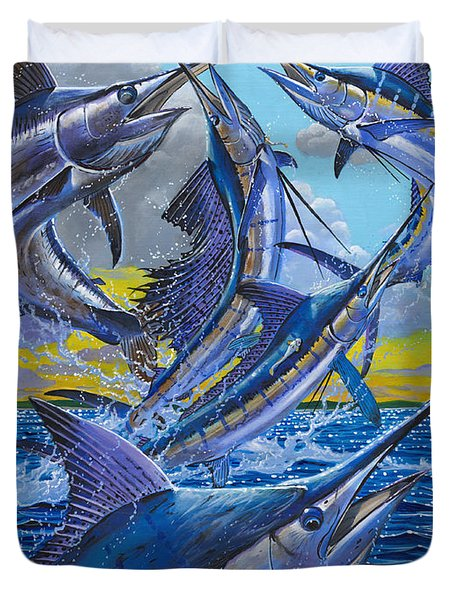Five Billfish Off00136 Duvet Cover