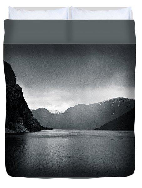 Fjord Rain Duvet Cover