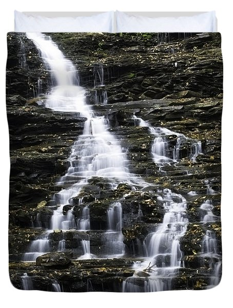 Fl Ricketts Falls Duvet Cover