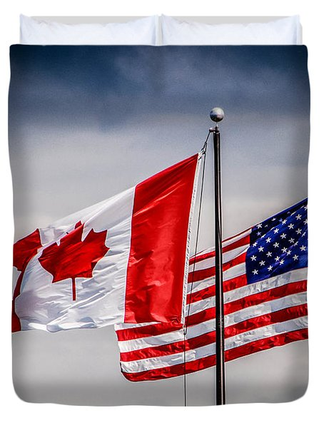 Flag Duo Duvet Cover