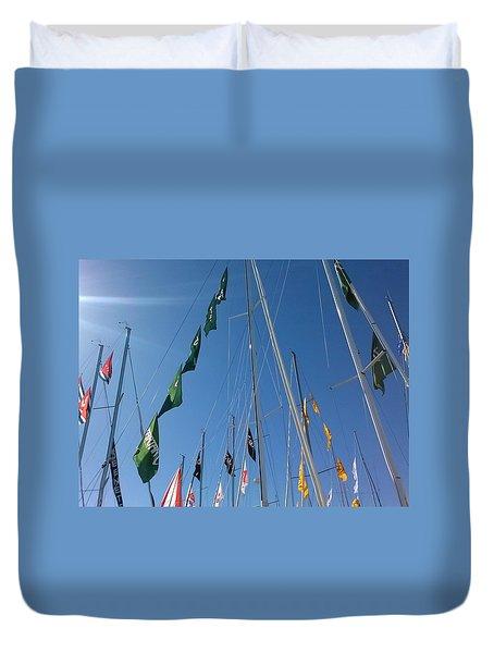 Flags Duvet Cover