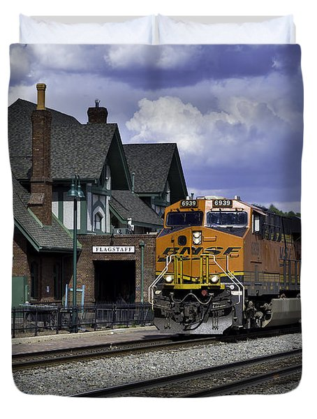 Flagstaff Station Duvet Cover