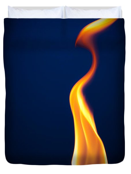 Flame Duvet Cover