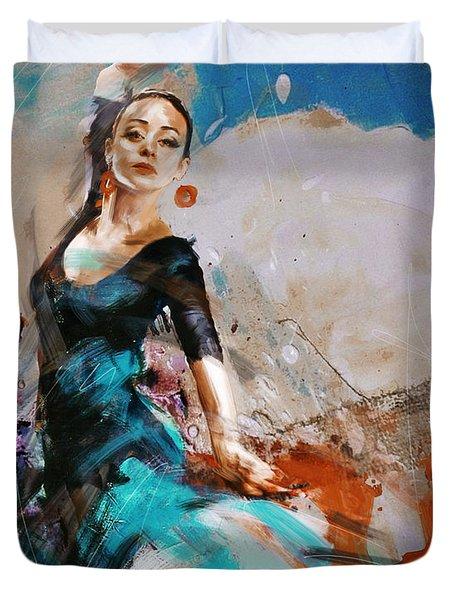 Flamenco 42 Duvet Cover