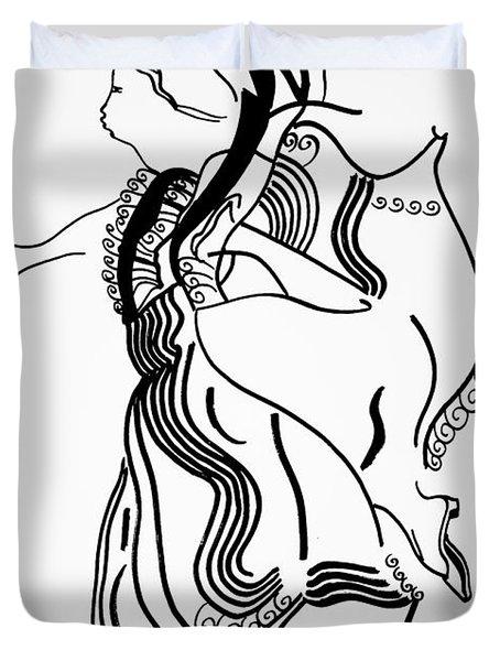 Flamenco Dance Duvet Cover
