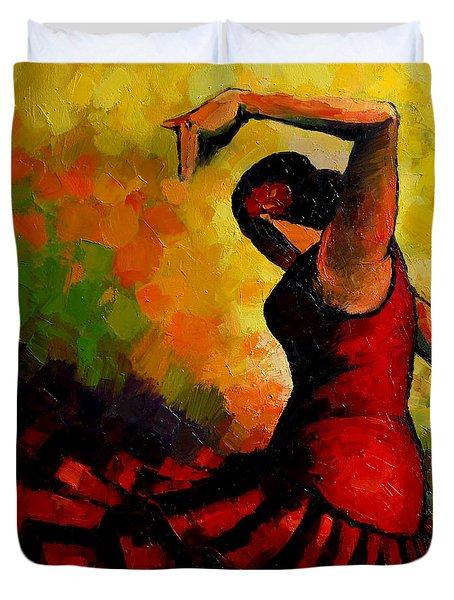 Flamenco Duvet Cover