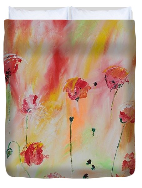 Flanders Field Duvet Cover by PainterArtist FIN