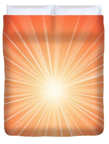 Flash - 1 Duvet Cover by Philip Ralley