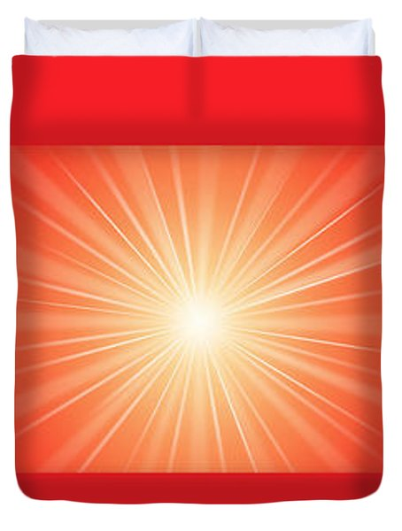Flash 2 Duvet Cover by Philip Ralley
