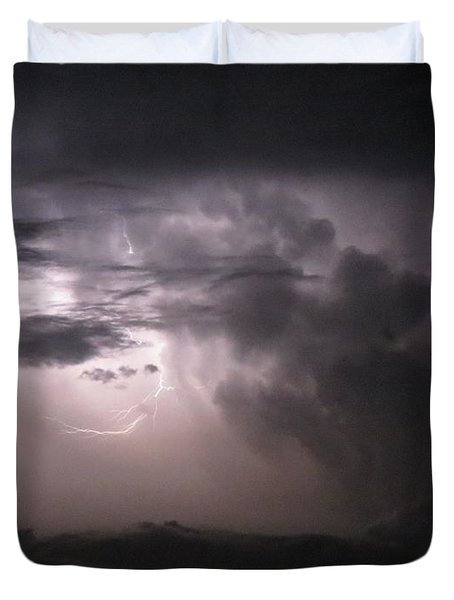 Flashes Of Lightening Duvet Cover