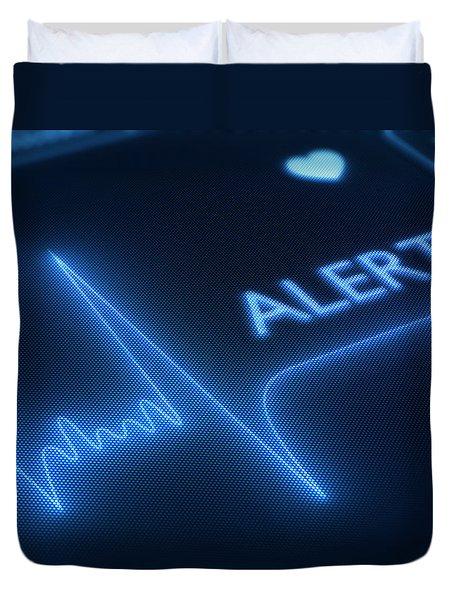 Heart Failure / Health Duvet Cover