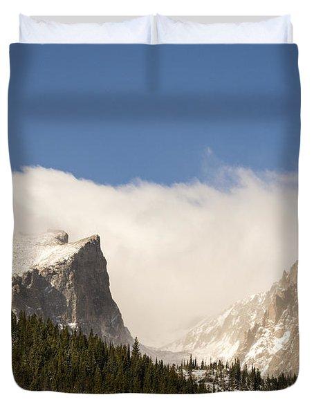 Flat Top Mountain - Rocky Mountain National Park Estes Park Colorado Duvet Cover