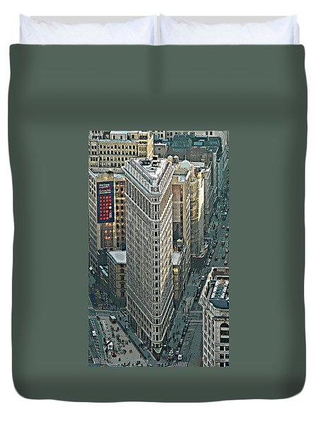 Flatiron Building Nyc 1 Duvet Cover