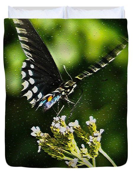 Flattering Flutter Duvet Cover