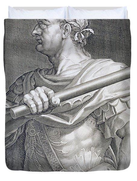 Flavius Domitian Duvet Cover by Titian
