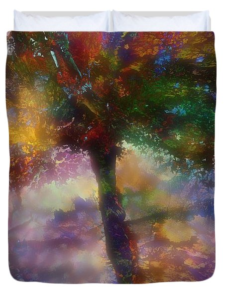 Flavours Of Autumn Duvet Cover